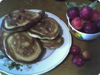 Ленивые пирожки или фруктовые оладьи