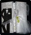 Еще одна свадебная открытка с костюмами