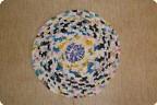 Вязание крючком, Шитьё: Дачные вязалки из.  Коврик для душа из пакетов.