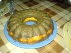 Печеночно-сырный торт