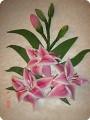 Лилии(соленое тесто)