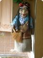 Бабка Ёжка-пакетница по МК Ликмы