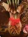 Золотая Ваза с ромашками для бабушки