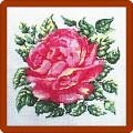 вышивка крестом с розами