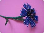 Поделка, изделие Бисероплетение: Цветы из бисера! (первый опыт плетения...