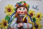 Лепка, Роспись: Украинские костюмы