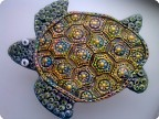 черепашка и рыбки