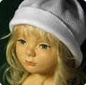 Неоконченная кукла из холодного пластика Darwi