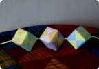 Декоративная подвеска (кубики)
