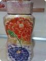 Цветочная баночка для кофе.