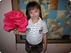 Гигантская роза.