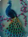 Картина, панно Квиллинг: Жар- птица Бумага.  Фото 1.