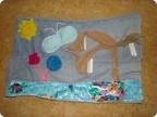 Вы уже давно мечтали сшить развивающий коврик для малыша.