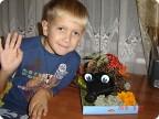 Ежик из Страны мастеров отправляется в школу н. 71 г. Риги на праздник осени!