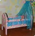 Как сделать кроватку для куклы малыша своими руками