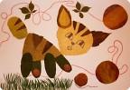 Поделки из листьев своими руками для детей фото8