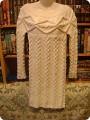 Гардероб Вязание спицами: Платье с аранами Пряжа.