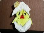 Модульное оригами - цыпленок-6.