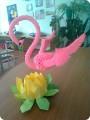 Модульное оригами - Фламинго-1.