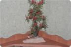такая вот родилась работа!Кто то видит в ней пироканту,кто то плетучую розу,кто то кустик волчьих ягод...