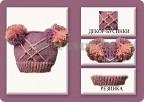 Шапка вязанная спицами для девочки 2 лет.
