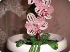 Бисероплетение: Орхидея.  Бисер.  Фото 1.