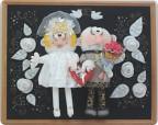 Невеста и жених поделки