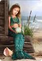 Заказать фотоколлаж детский портрет на холсте. .  Студия Нотта-Дизайн.