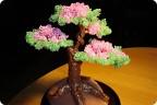 Поделка, изделие Бисероплетение: мое первое деревце Бисер.