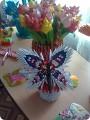 Модульное оригами - бабочка-9.