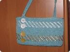Гардероб Вязание крючком: сумки Ленты.  Фото 1.