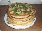 Кулинария Рецепт кулинарный Лепешки с чесноком Тесто для выпечки.