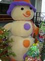 Большой снеговик своими руками из синтепона