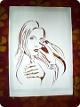 Картина панно рисунок Вырезание ЧИТА-ДРИТА вырезалка Бумага фото 1.