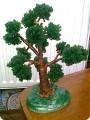 18. Деревья из бисера.  Поделка, изделие.