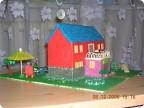 Детская поделка дом