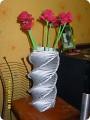 Как сделать вазу своими руками из гофрированной бумаги