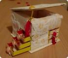 Моделирование - Шкатулка из спичечных коробков.