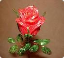 Поделка изделие Бисероплетение цветы из бисера Бисер фото 1.