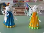 Мастер класс по изготовлению куклы из бумаги