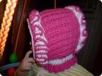 Гардероб Вязание крючком: капор или шапка-шлем Пряжа.