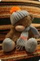 Поделка, изделие Вязание спицами: Мишка Нитки.