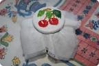 Декор предметов Бисероплетение Вышивка Вишенки из бисера Бусинки.