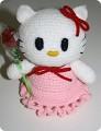 Hello Kitty Хелло Китти ::: Мягкая игрушка Hello Kitty мини розовая...