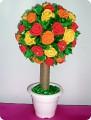 Сделать дерево счастья из салфеток своими руками