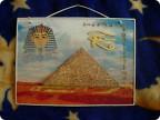 Египетская пирамида поделка своими руками