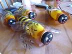 и даже можно сделать маму-пчелу.