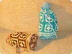 Поделка, изделие, Вязание, Вязание крючком, : Вязаные сумки-торбы Пряжа...