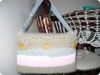 Декор предметов Вязание спицами: чехол для нетбука Нитки.  Фото 1.