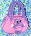 Игрушка Вязание крючком Вязаная сумочка-Лунтик Пряжа фото 1.